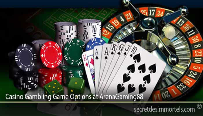 Casino Gambling Game Options at ArenaGaming88